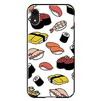 iPhoneXR対応 iPhoneケース (ハードケース) [ミラー付き/カード収納/耐衝撃] Oilshock Designs (オイルショックデザインズ) Sushi CollaBorn