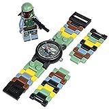 レゴ ウォッチ スターウォーズ ボバ フェット 腕時計 LEGO WATCH Star wars BOBA FETT 時計 9005466 [並行輸入品]