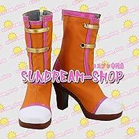 【サイズ選択可】女性22CMコスプレ靴 ブーツ203562アイカツ!フォトonステージ!!スターライト学園有栖川おとめ