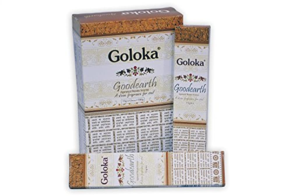 目に見えるスリップ手配するGolokaプレミアムシリーズコレクションHigh End Incense sticks- 6ボックスの15 gms (合計90 gms )