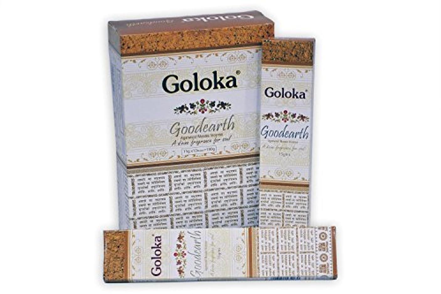 平均賄賂幸福GolokaプレミアムシリーズコレクションHigh End Incense sticks- 6ボックスの15 gms (合計90 gms )