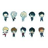 ラバーストラップコレクション ユーリ!!! on ICE 1BOX = 10個入り 全10種
