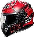 ショウエイ(SHOEI) バイクヘルメット フルフェイスZ-7 MARQUEZ3(マルケス3) TC-1 (RED/BLACK) M (57cm)