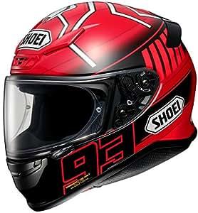 ショウエイ(SHOEI) バイクヘルメット フルフェイスZ-7 MARQUEZ3(マルケス3) TC-1 (RED/BLACK) L (59cm)