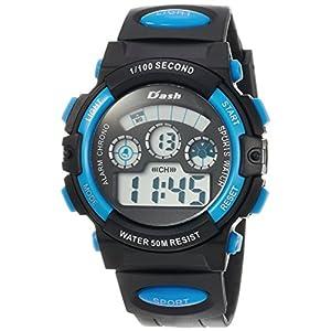 [アリアス]ALIAS 腕時計 デジタル DASH 5気圧防水 ウレタンベルト ブルー ADWW17099-02 メンズ