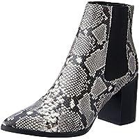 BILLINI Women's Arcadia High Heel Boot, Natural Snake, 9 AU