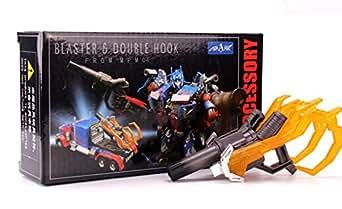 Spark Blaster & Double Hook for MPM-4/LT02 Optimus Prime 用武器セット グレーver.