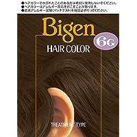 ホーユー ビゲン ヘアカラー 6G (自然な褐色) 1剤40mL+2剤40mL [医薬部外品]