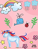 Doodle For Kids: Unlined Blank Journal For Doodling Drawing Sketching & Writing