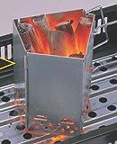 キャプテンスタッグ(CAPTAIN STAG) バーベキュー用 折りたたみ 火おこし器 炭焼き名人 FD M-6638