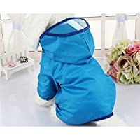 Zhhlaixing ペット用品 Puppy Dog Raincoat Water Resistant Keep Pets Dry for Small and Meduim Dogs