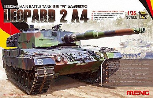 モンモデル 1/35 ドイツ主力戦車 レオパルト 2A4
