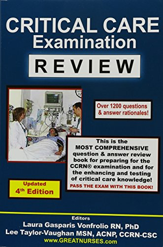 Download Critical Care Examination Review 0962724696
