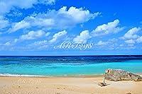 風景写真ポスター 波照間島ニシ浜08  自分好みの額に入れたりボードに貼って部屋飾りを楽しめます。最高級の素材にこだわりのプリント。 (A1 84.1×59.4cm)