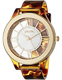 [フォリフォリ]Folli Follie TIME ILLUSION LIGHT ウォッチ/腕時計(ベッコウ) WF18P021ZPB-CH レディース 【正規輸入品】