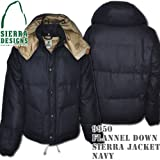 Flannel Down Sierra Jacket 9950: Navy