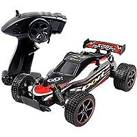 [Gosear] ゴシレ 2.4Ghz 1:20ミニリモートコントロールレーシングカー電気ファストレースバギーホビーRC車高速オフロード車ドリフトクローラートラック―(赤い)