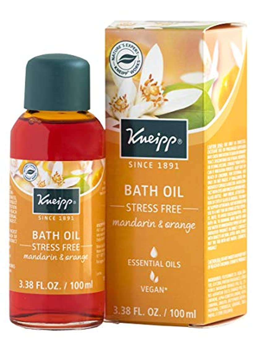 Kneipp STRESS FREE BATH With Natural Essential Oils MANDARIN & ORANGE 100ml