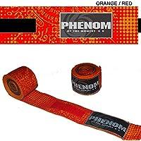 PHENOMフェノム サクヤン バンテージ オレンジ×レッド キッズ&女性対応 250cm×4cm エクストラパット