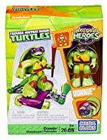 [メガブロック]Mega Bloks Teenage Mutant Ninja Turtles HalfShell Heroes Donnie with Skateboard DMW40 [並行輸入品]