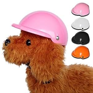 【AVIL】 ペット用ヘルメット (L, ブラック)