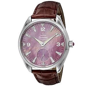 [オメガ]OMEGA 腕時計 Seamaster Aqua Terra レッドパール文字盤 コーアクシャル自動巻き 2806.77.40 メンズ 【並行輸入品】