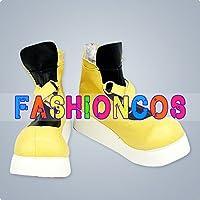 ★サイズ選択可★女性24CM UA0826 キングダムハーツ ソラ コスプレ靴 ブーツ