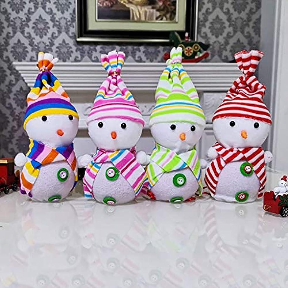 不注意ラバ既婚4パッククリスマスキャンディバッグフランネル巾着ギフトバッグギフトバッグアップルバッグサンタ雪だるまChrismasのChrismasのパーティー用品や装飾品ギフトバッグ