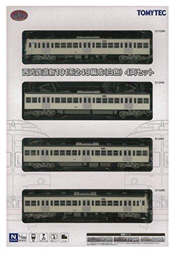 鉄道コレクション 鉄コレ 西武鉄道 新101系 249編成  白色  4両 トミーテック