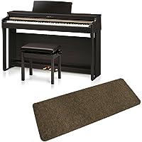 KAWAI CN27R 防音マットセット 電子ピアノ (カワイ プレミアムローズウッド調)