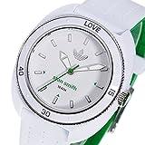 アディダス スタンスミス クオーツ レディース 腕時計 ADH3122 ホワイト/グリーン