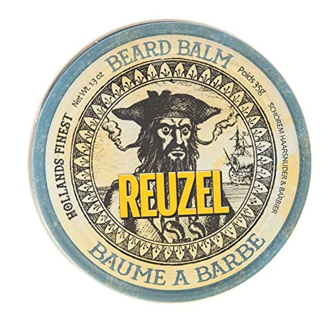 野ウサギカルシウム杖ルーゾー ビアード バーム Reuzel Beard Balm 35 g [並行輸入品]