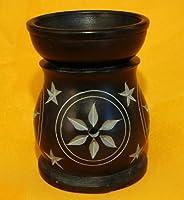 Black Stone Aroma Lamp for Oil