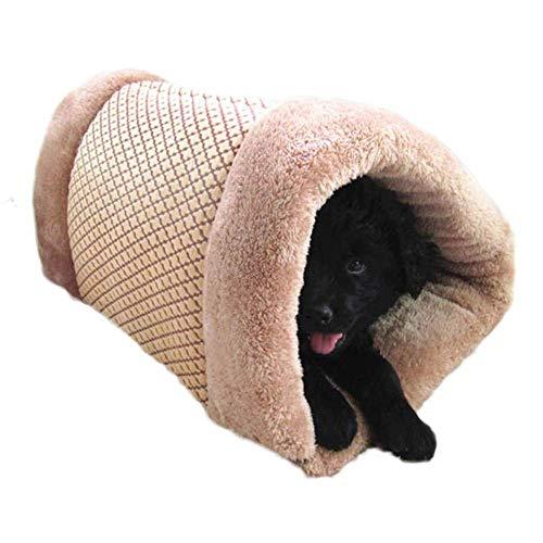 ペットベッド 犬 猫 ペットハウス クッション ペット用品 もこもこ 秋冬 2way 小型犬 犬用品 猫用品 寝床 睡眠 保温 防寒 可愛い おしゃれ