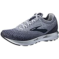 Brooks Women's Levitate 2 Women's Road Running Shoes, Grey/Ebony/White, 8.5 US