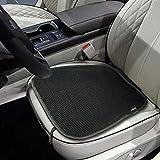 Big Ant通気性カーシートクッション1pc 車のインテリアシートカバー クッションパッドマット用 オートサプライ ホーム オフィスチェア(ブラック)