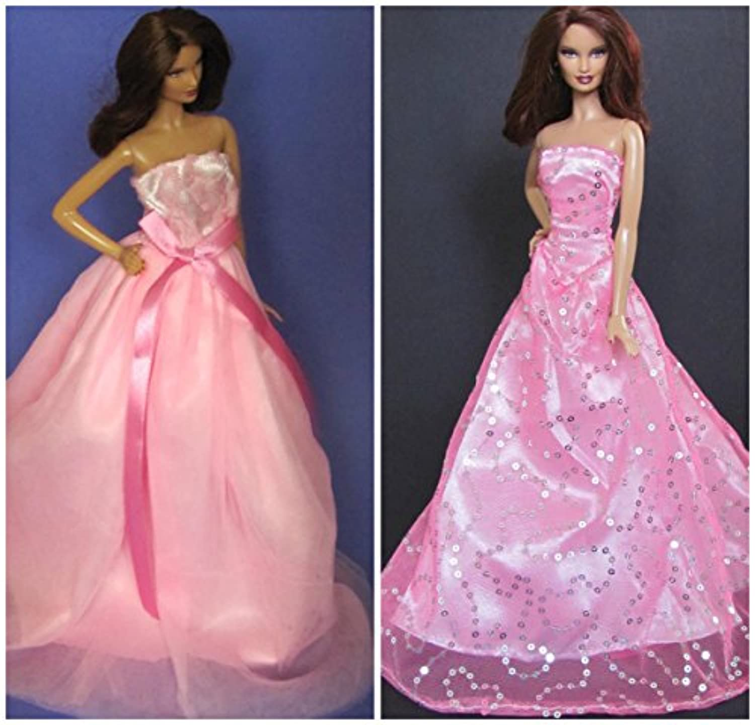 hellojoyロット2個ファッションカジュアルWear Clothes / outfit for Barbie Dolls D