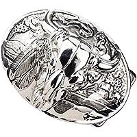 Generic Vintage Alloy Animal Design America Western Cowboy Belt Buckle Jewelry Animal Lover Jewelry