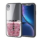 エレコム iPhone XR ケース ハイブリッドケース 背面カラー コスメティック(ピンク) PM-A18CHVCG5T1