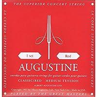 【国内正規品】AUGUSTINE RED MEDIUM TENSION SET オーガスティン クラシックギター弦