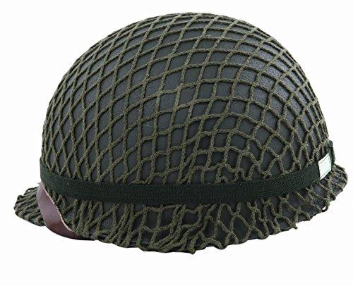 『スティール製復刻版M1ヘルメットネット付レプリカ』