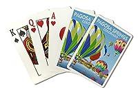 Pagosa Springs、コロラド–ホットエアバルーン( Playingカードデッキ–52カードPokerサイズwithジョーカー)