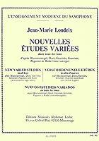ロンデックス : 新しい様々な研究 (サクソフォン教則本) ルデュック出版
