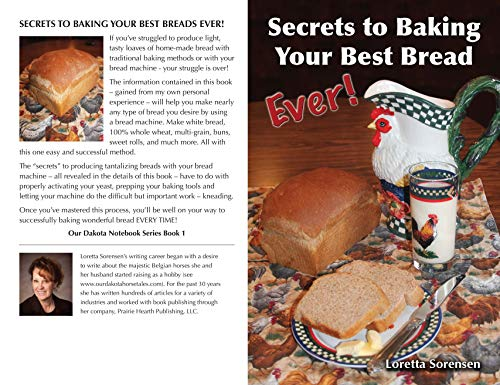 Secrets To Baking Your Best Bread Ever! (Our Dakota Notebook Book 1) (English Edition)