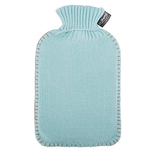 [ ファシー ] Fashy 湯たんぽ カバー 2L シンプルニット デラックスカバー Cuddly Toys - Hot Water Bottle 6715 50? 48935.6 アイスブルー Ice Blue ゆたんぽ あったか [並行輸入品]