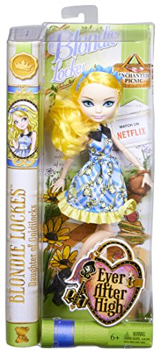 [エバーアフターハイ]Ever After High Enchanted Picnic Blondie Lockes Doll CLD86 [並行輸入品]