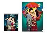 【Amazon.co.jp限定】クレイジー・リッチ!ブルーレイ&DVDセット (2枚組) (オリジナルA4クリアファイル付) [Blu-ray]