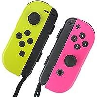 Nintendo Switch ジョイコン 用 スキンシール 選べるカラー シオカラセット カバー シール ケース 高級素材 側面対応 丈夫で長持ち 保護 高級感のある手触り 簡単に貼り付け可能 ニンテンドースイッチ (シオカラセット)