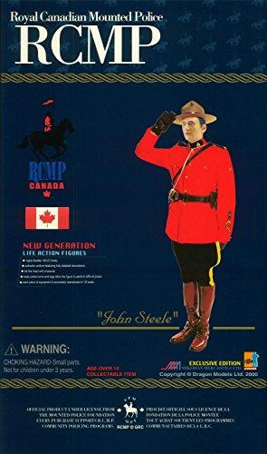 "1/6 RCMP 王立カナダ騎馬警察 ""ジョン・スティール"""