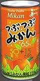 JA鹿児島県経済連 ジューシー つぶつぶみかん65% 190g×30缶